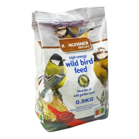 High Energy Wild Bird Feed For Garden Birds Bag Kingfisher Bird Care 900g